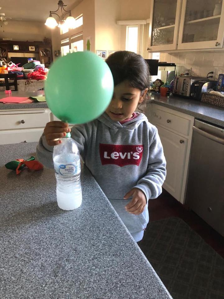 Making Baking Soda Balloons To Bounce