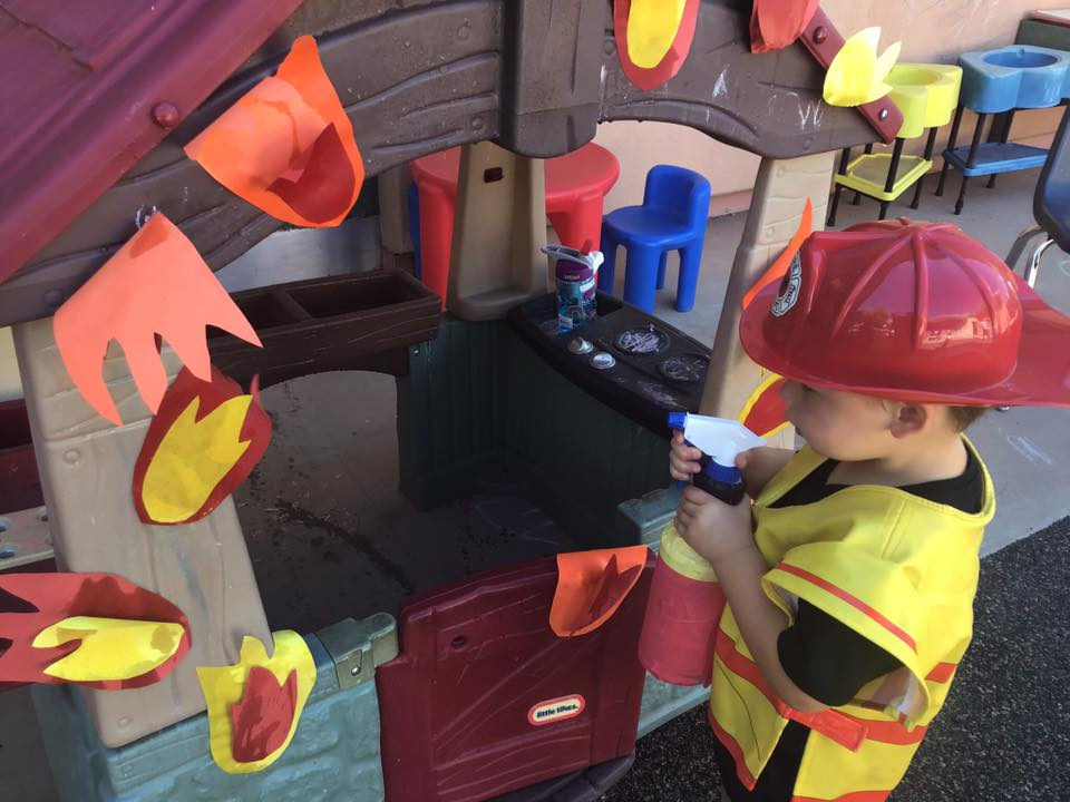 Firefighter Dramatic Play Activity