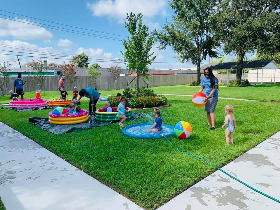 Having a Blast With a Water Day for Toddlers