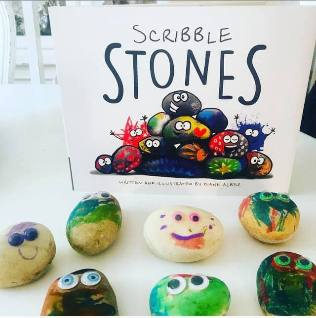 Scribble Stones Craft Activity