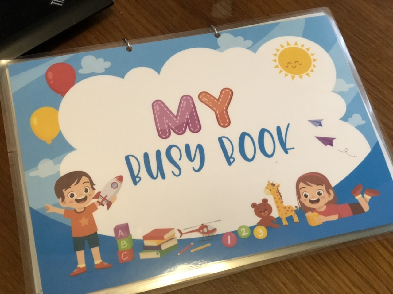 Busy Books for Toddlers