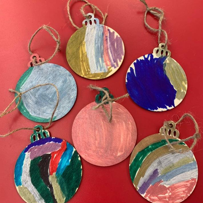 Creating Christmas Tree Ornaments