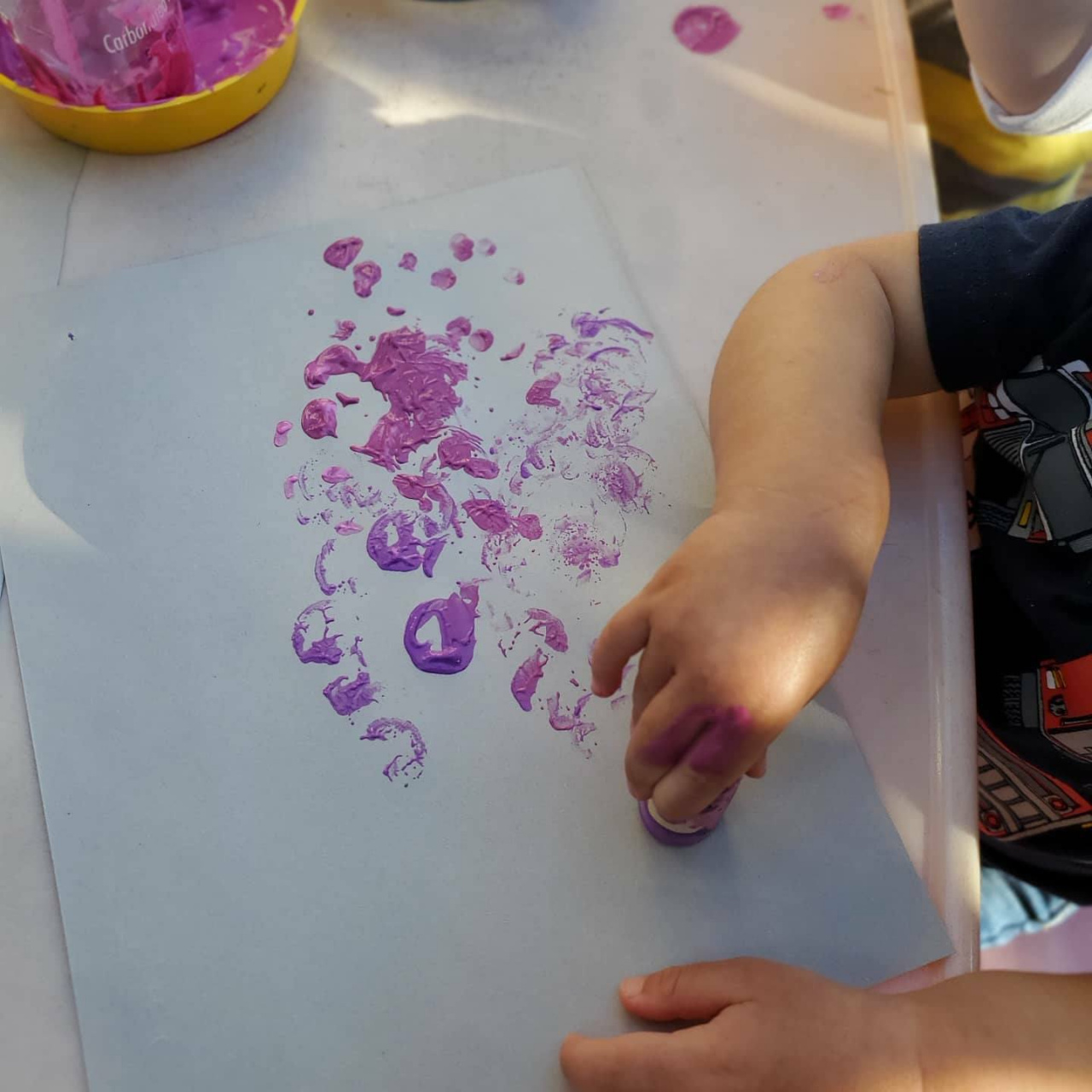 Cherry Blossoms Painting Craft