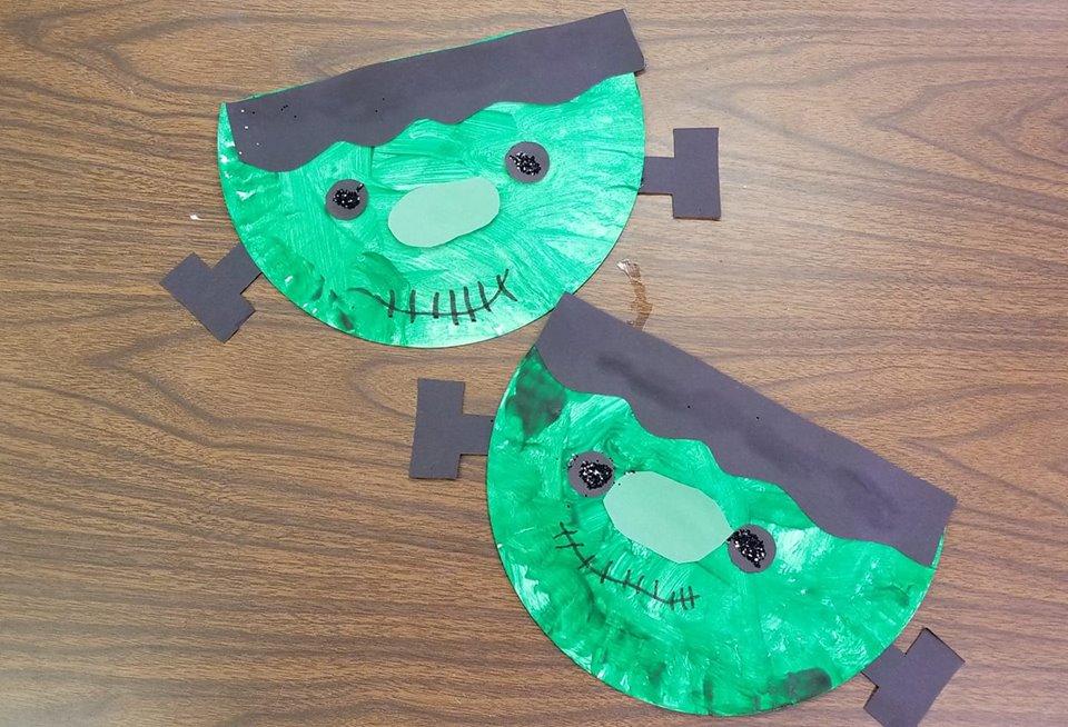 halloween craft for preschool