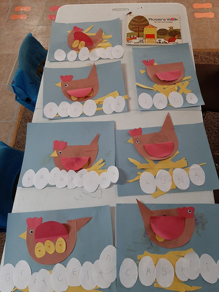 Chicken Craft for Preschoolers
