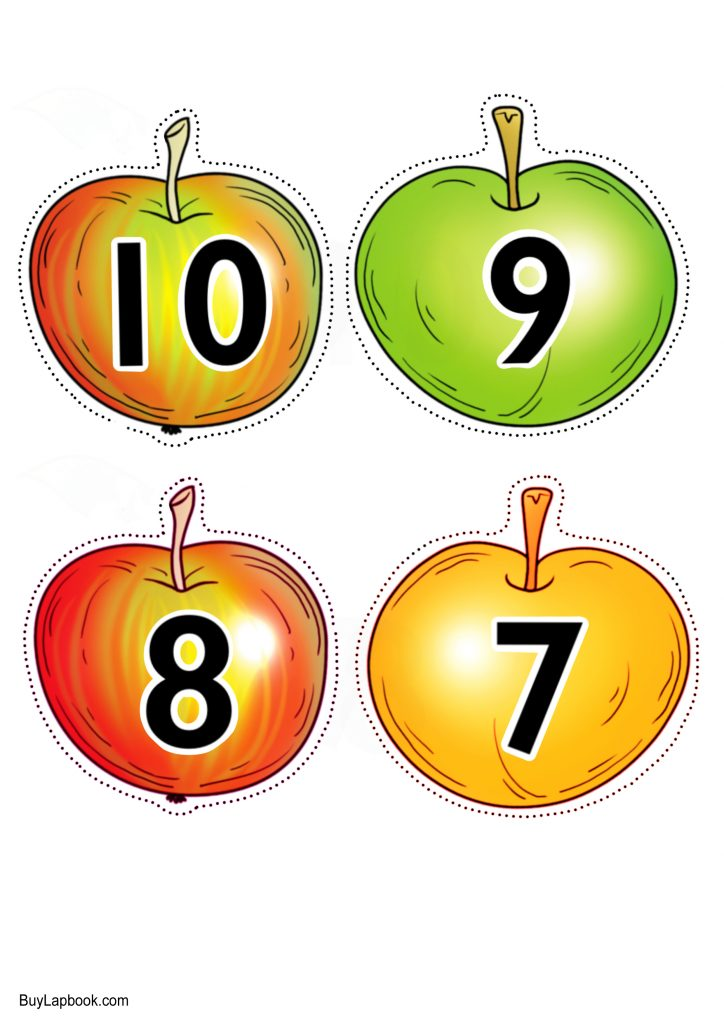 apples numbers