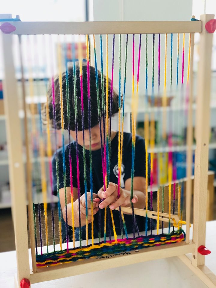 Weaving for Preschool