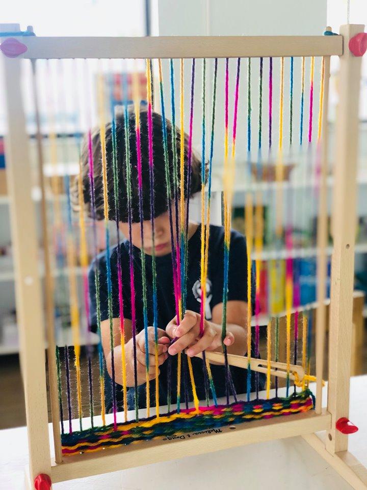 Weaving Loom Craft for Preschool and Kindergarten
