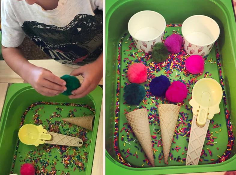 Preschool Ice Cream Theme