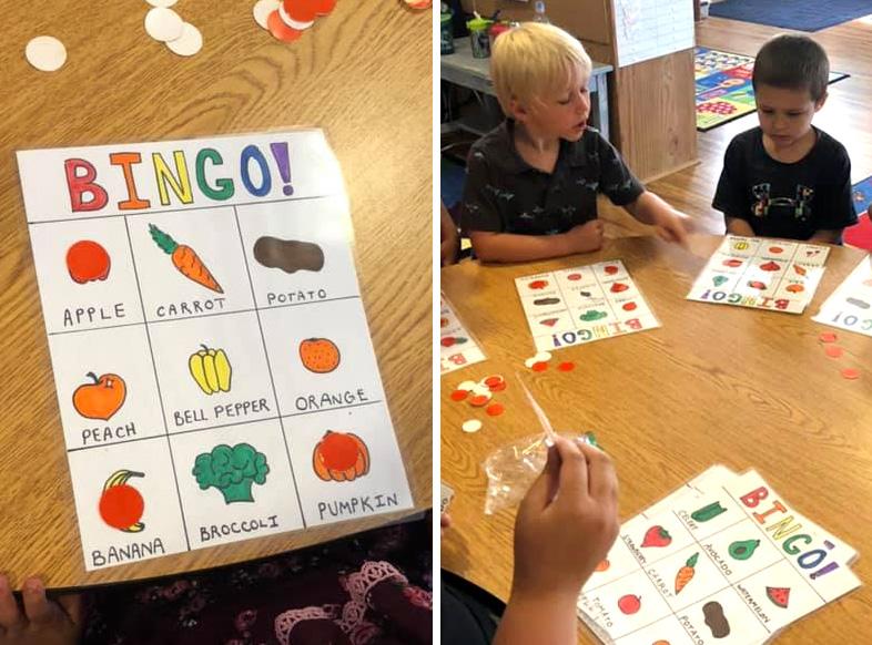 bingo for preschoolers