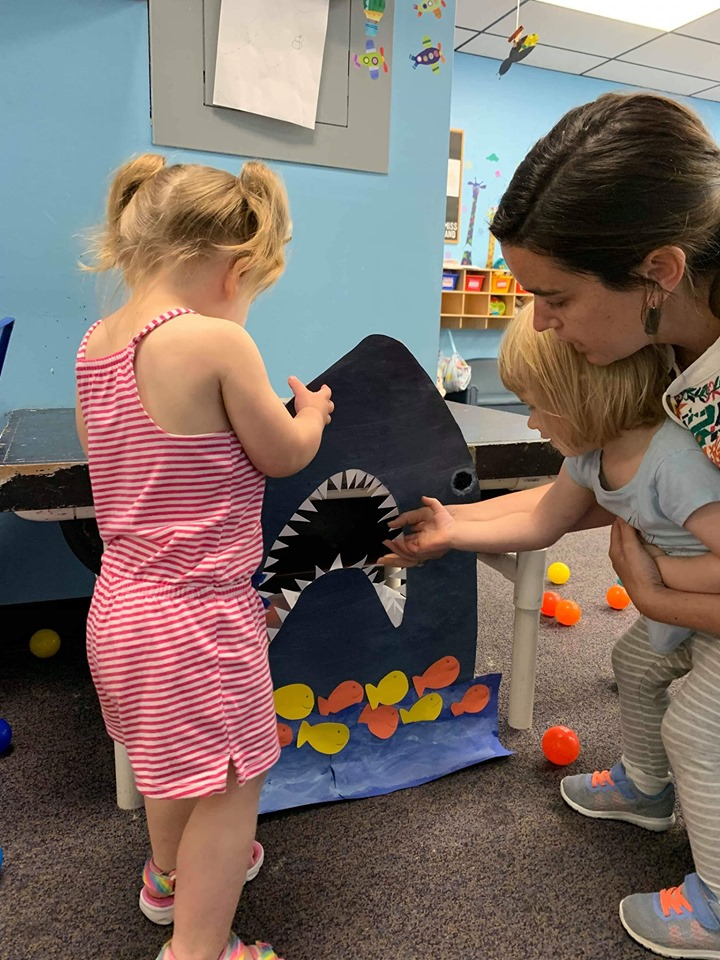 Feed The Shark, Ball-Toss Game Popular at Schools