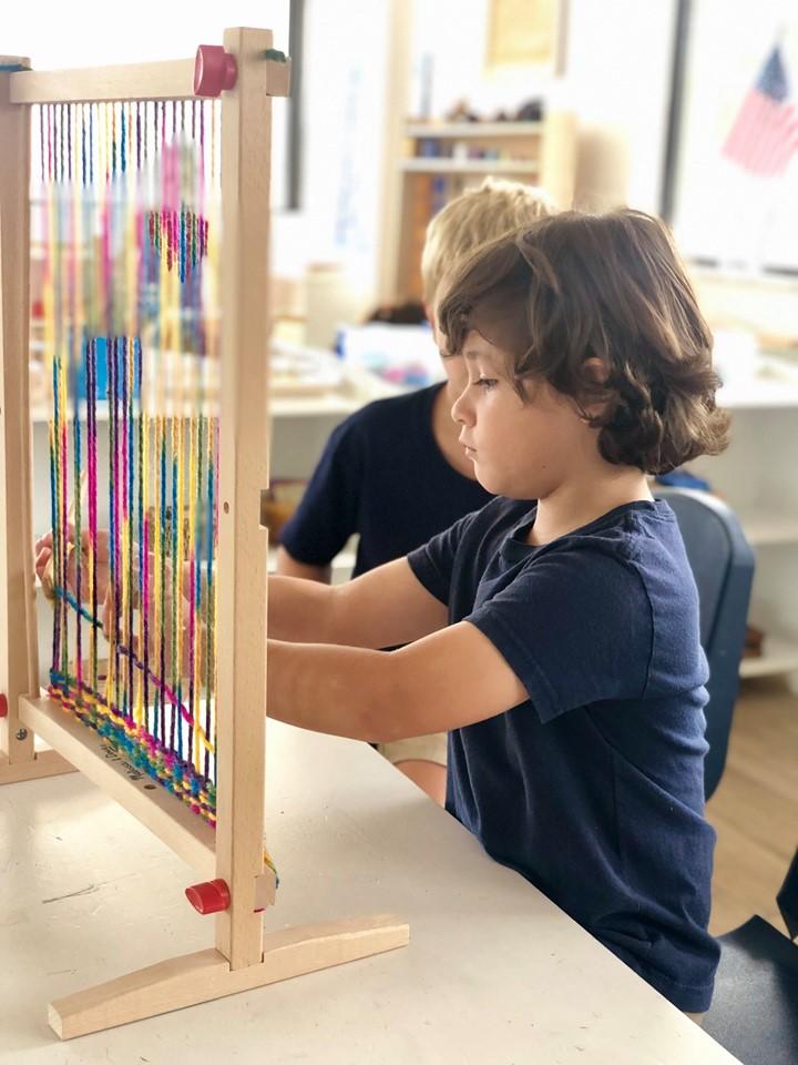 Weaving for Preschool