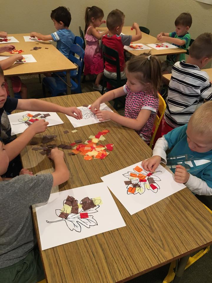 Easy Fall Craft for Preschoolers