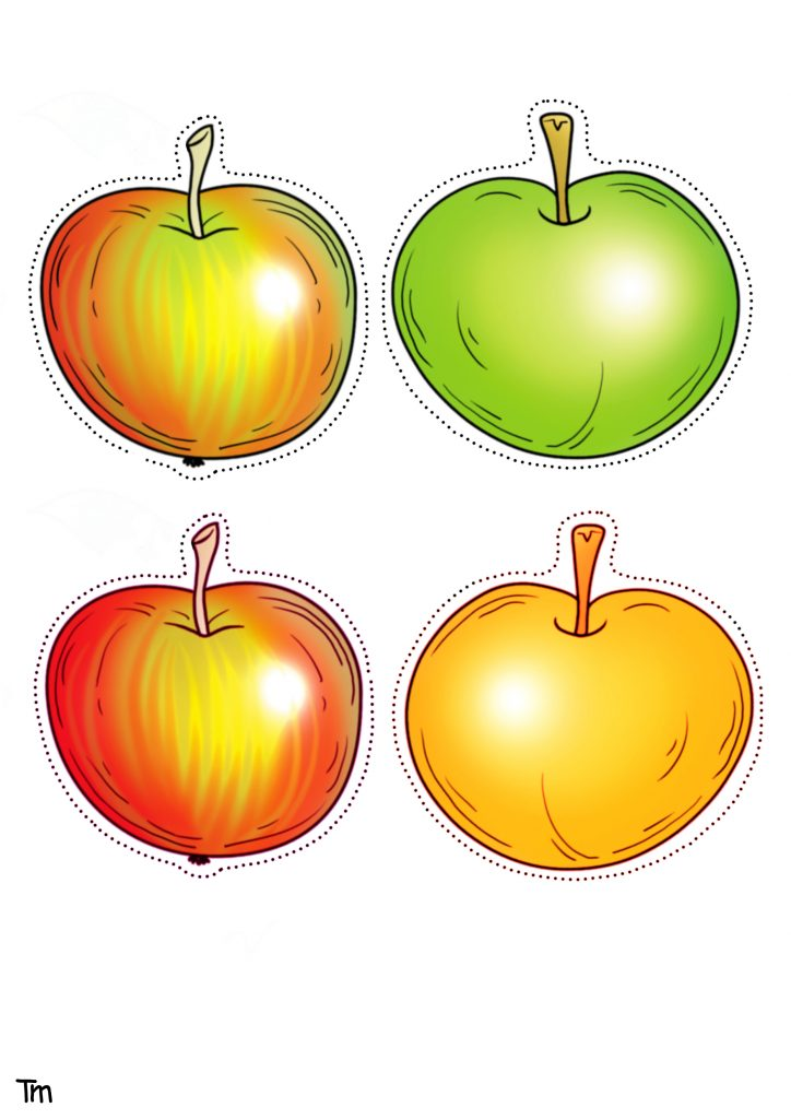 Apples Free Printable