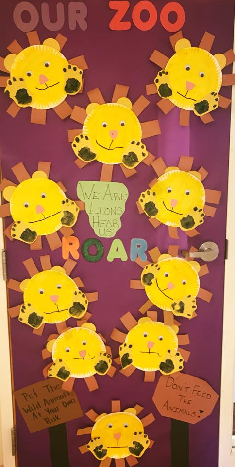 Classroom Door Theme Ideas: Zoos and Animals!