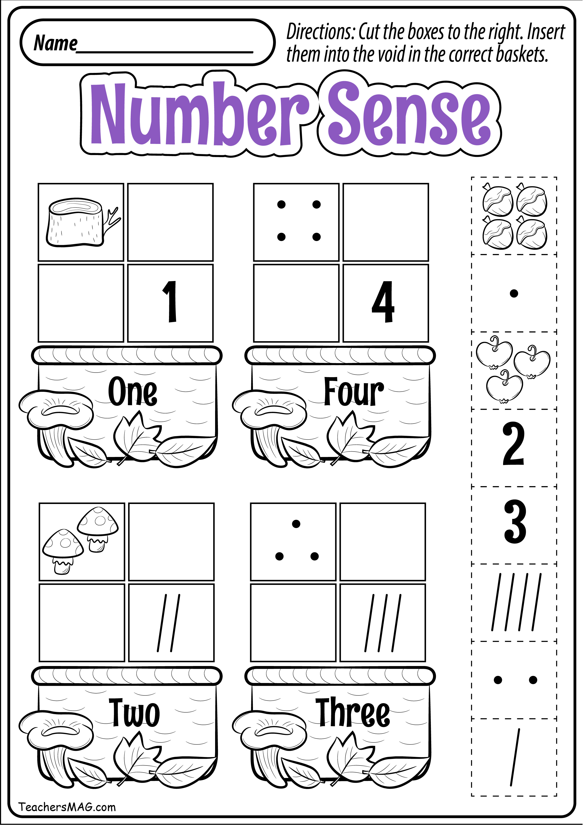 - Preschool Fall Math Worksheets TeachersMag.com