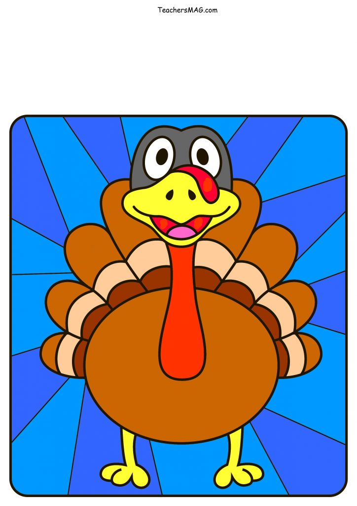 Turkey Printable