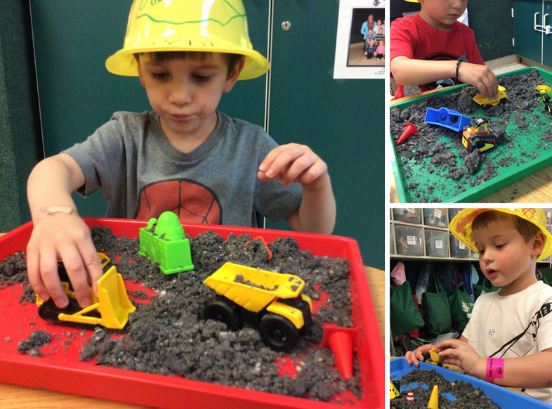 Studying Construction | Construction Preschool Activities