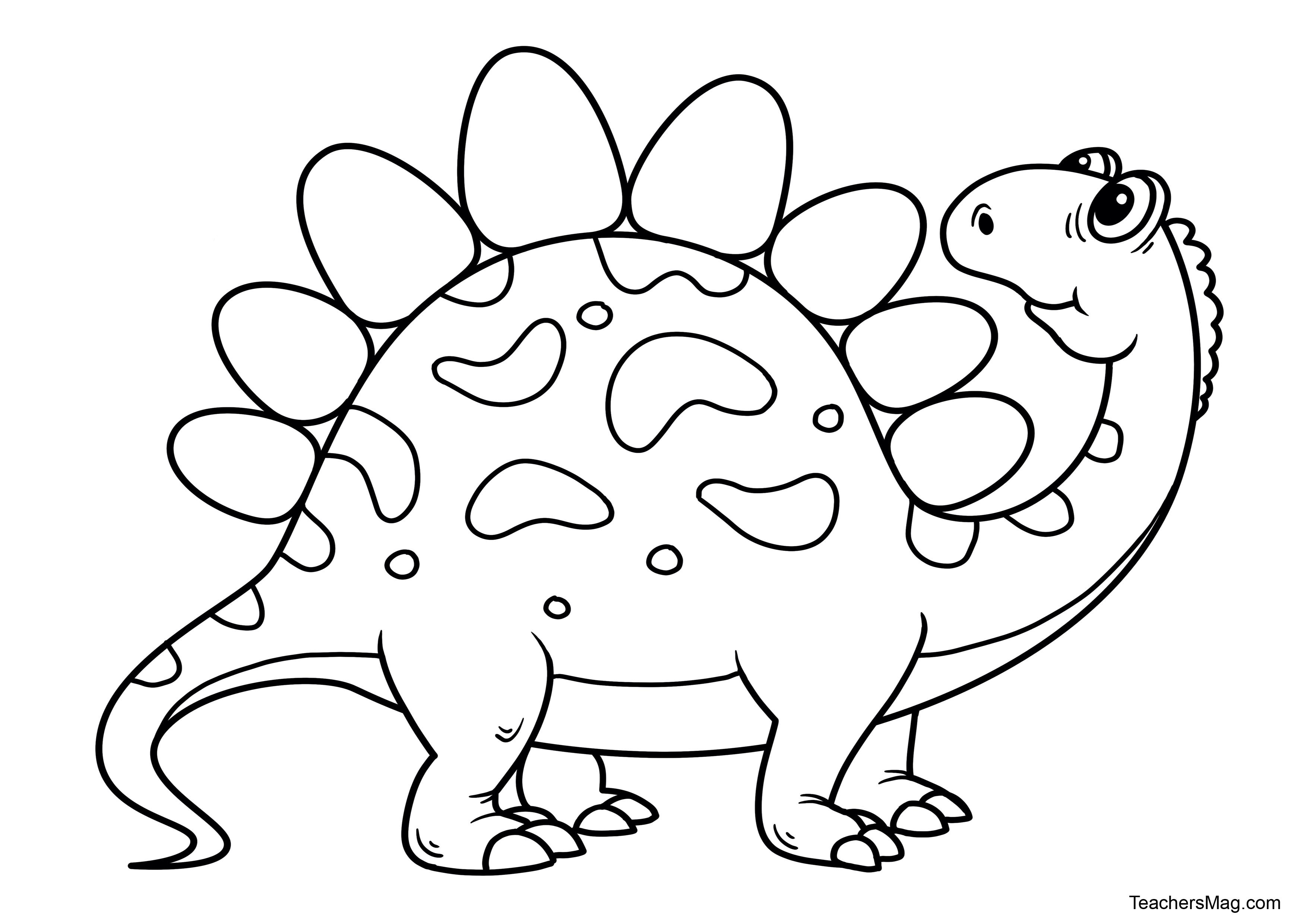 Free Dinosaur Printables for Preschool | TeachersMag.com