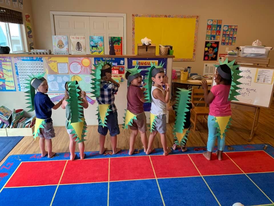 Dinosaur-Themed Crafts for Preschoolers