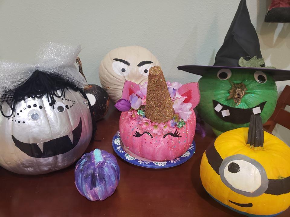 Halloween Pumpkin Decorating for Kids