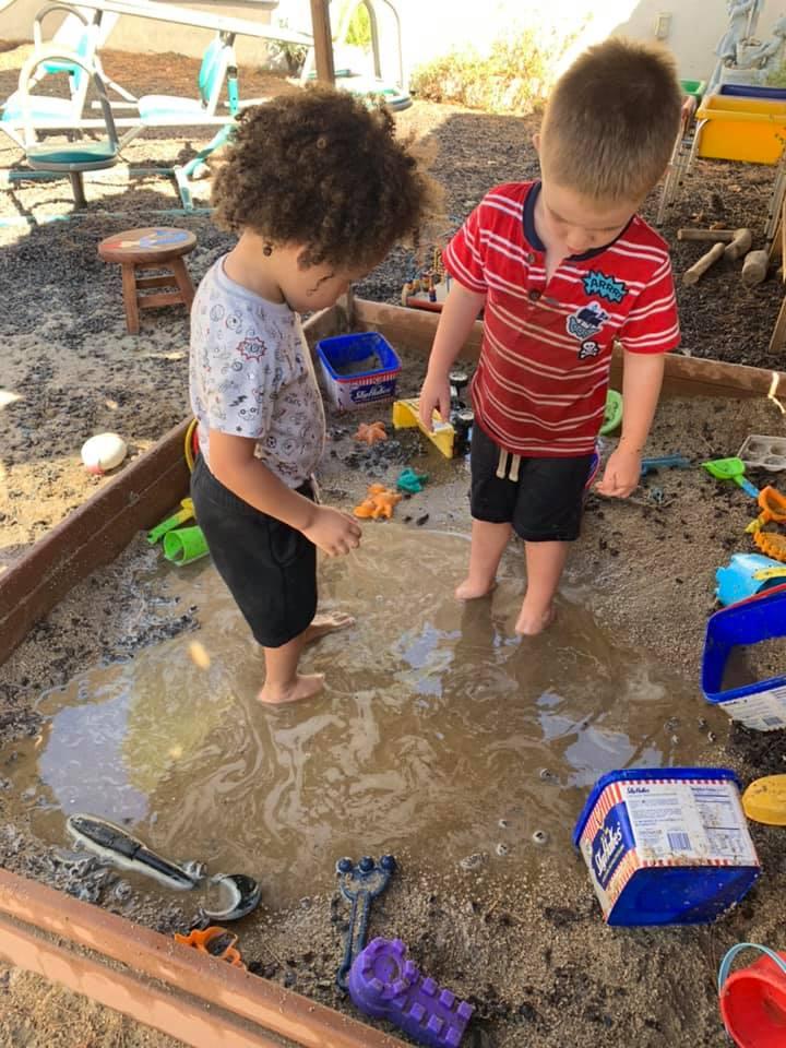 Preschool Mud Day!