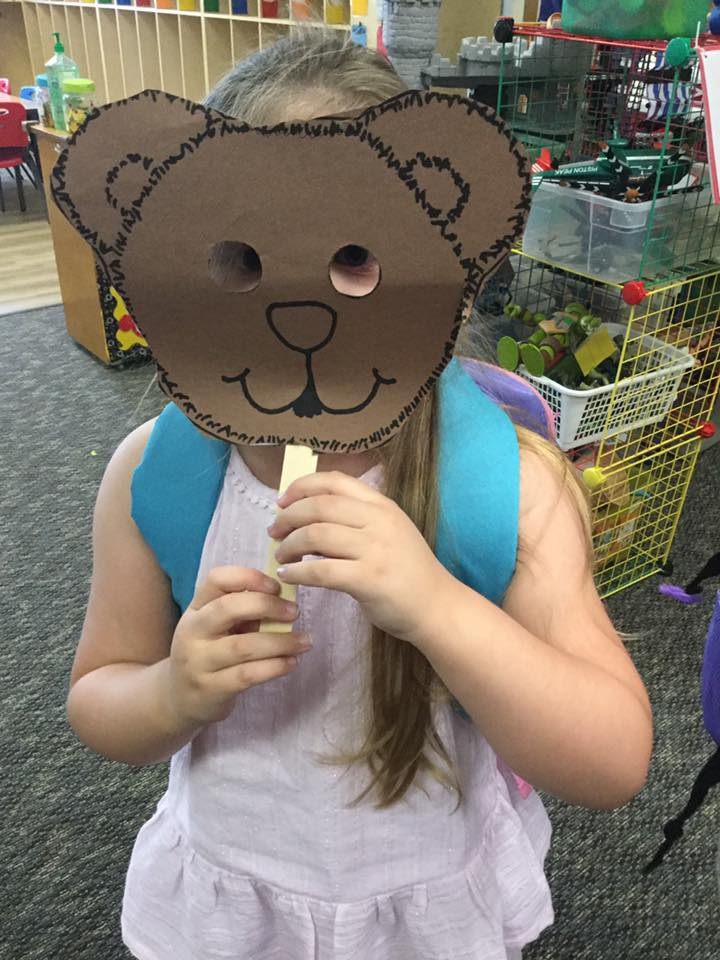 Free Bear Mask Printable