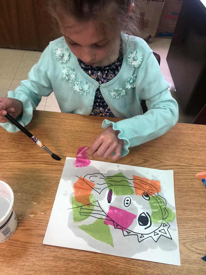 Picasso-Style Portraits for Preschool