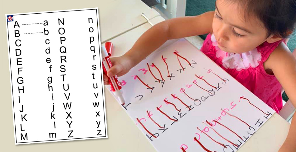 Activity: Upper Lower Case Matching ABC