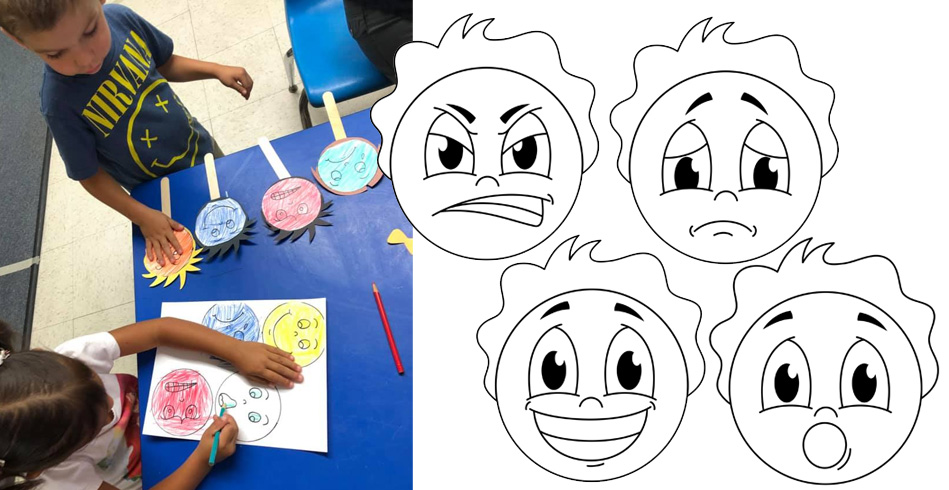 Printable Emotion Faces Activity