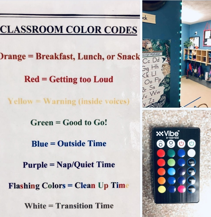 Classroom Color Codes