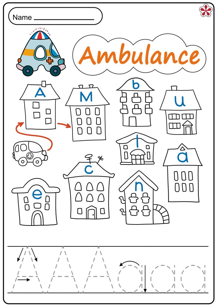 Ambulance Worksheet