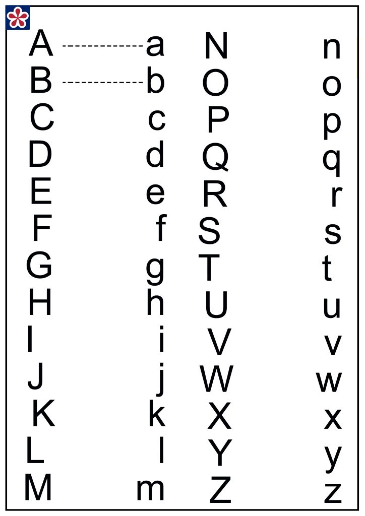 upper and lower case worksheet