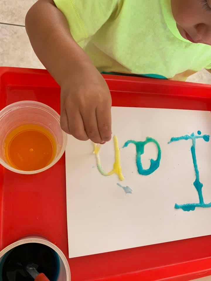 Preschool Name Activities