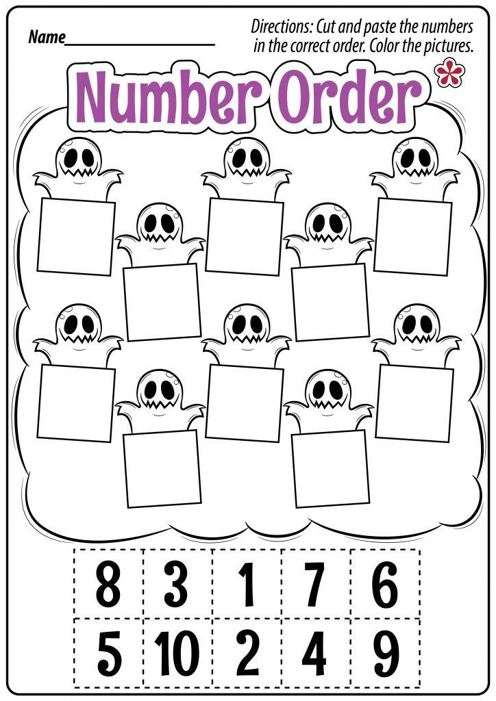 Number Order Worksheet