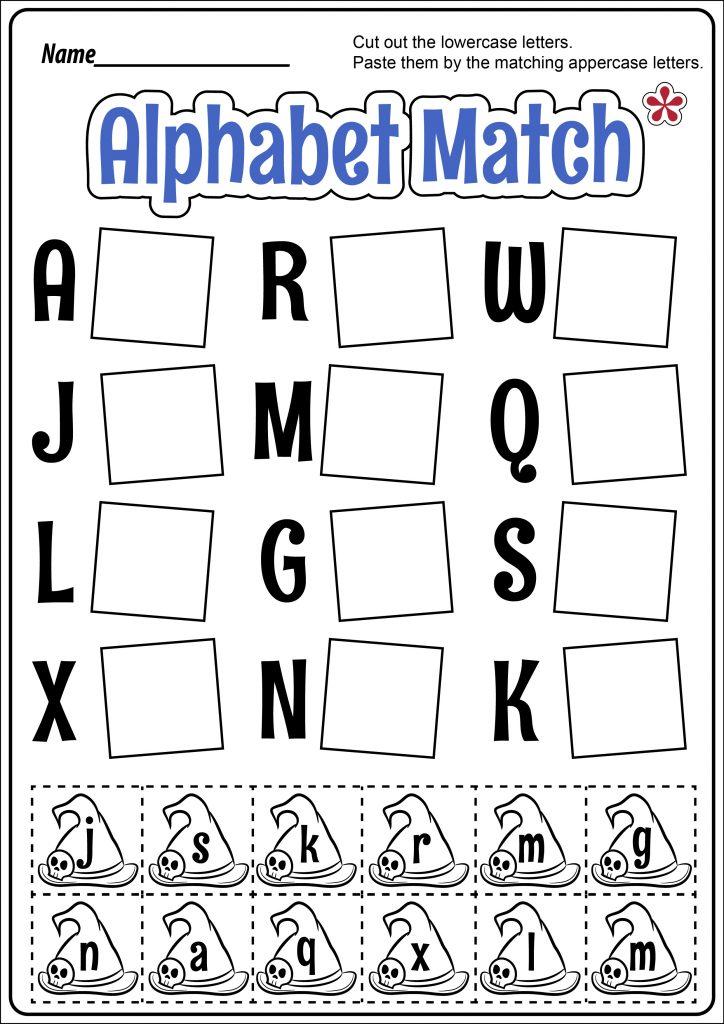 Alphabet Match Worksheet