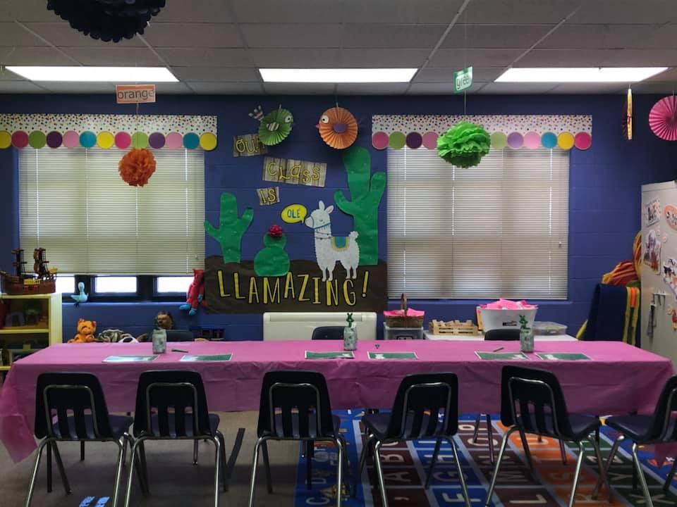 Llamazing! Classroom Decor