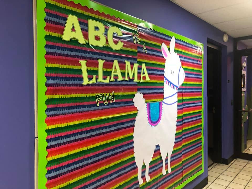ABC is a Llama Fun Classroom Decor