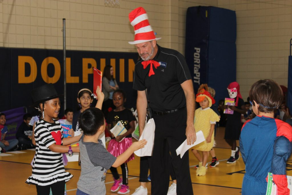 Storybook Character Parade for Kindergarten Students