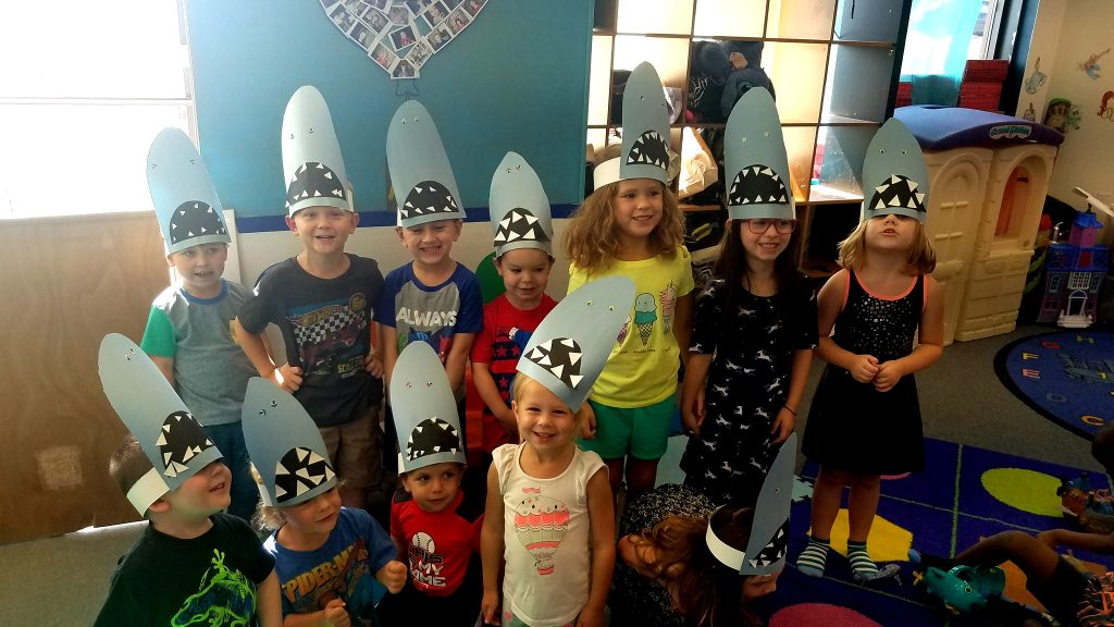 Shark Week Headbands Preschool Crafts