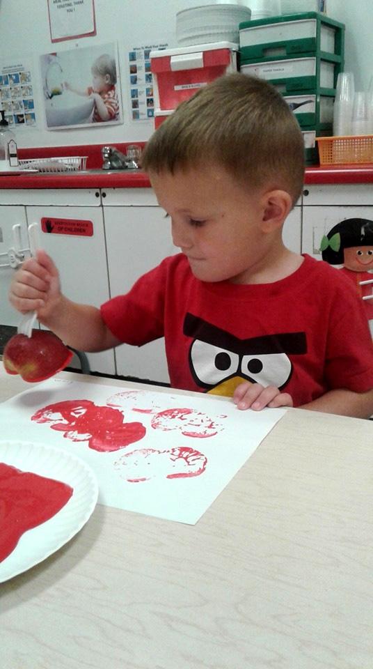 Apples Week in Preschool Class