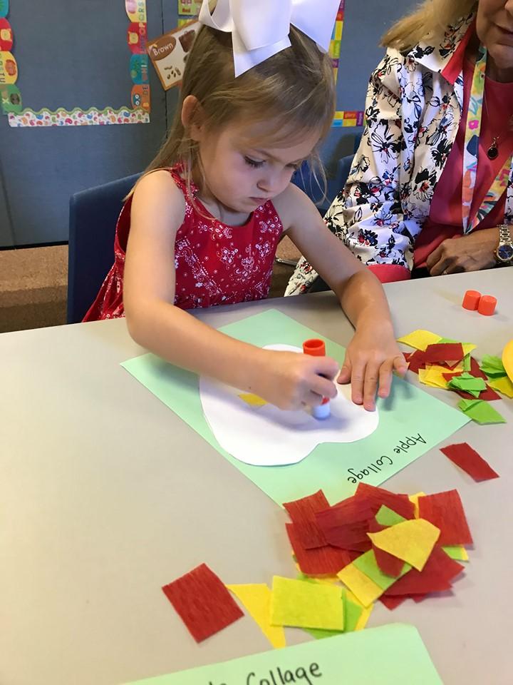 Apple Crafts for Preschoolers
