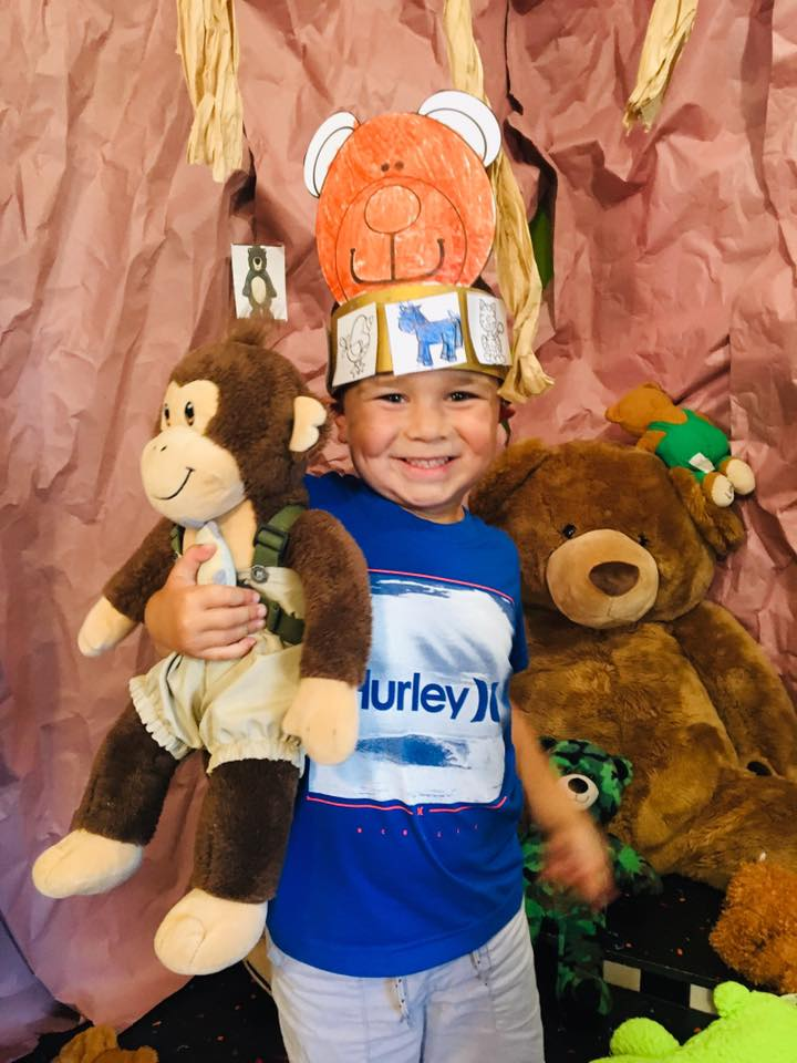 Free Printable Bear Crown for Kids