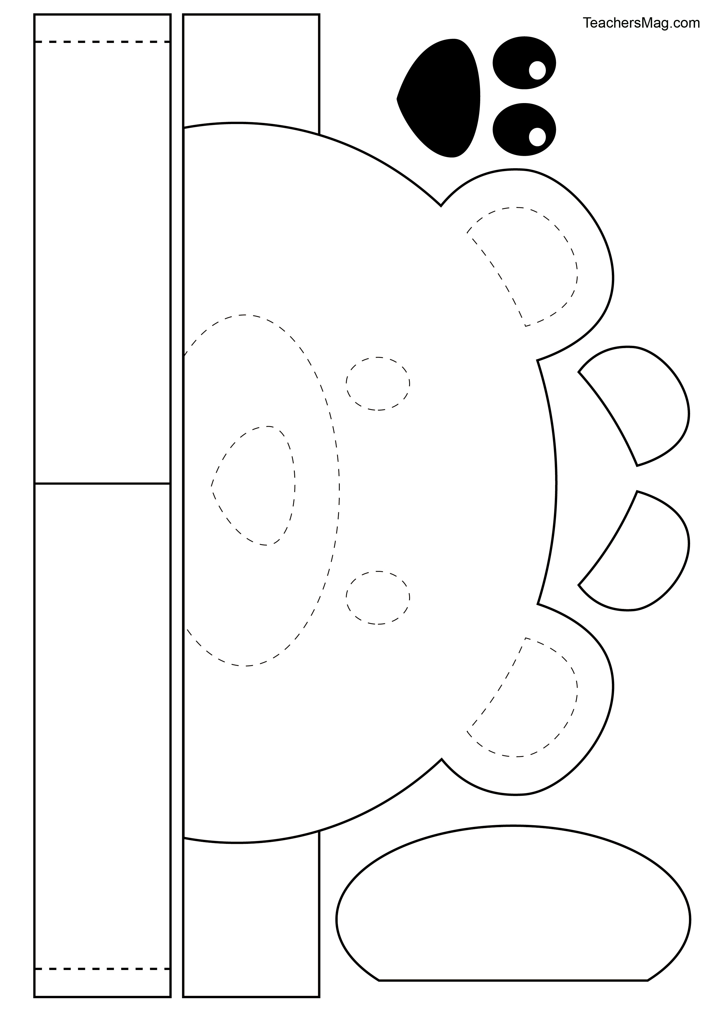 Free Printable Bear Crown For Kids Teachersmag Com