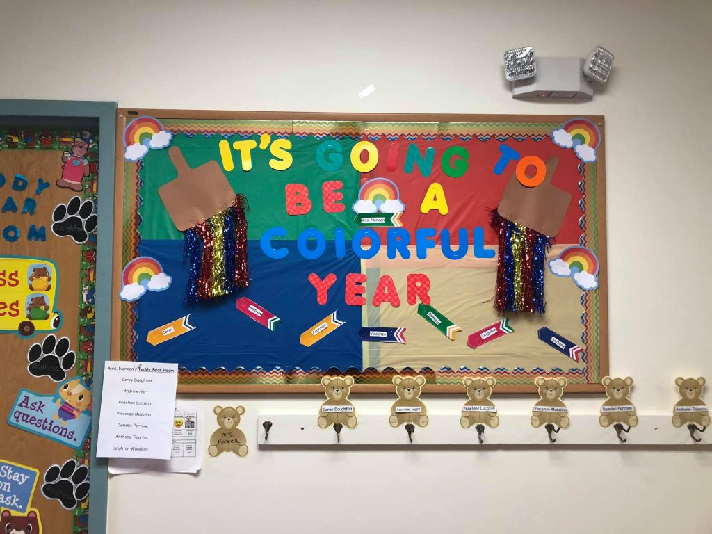 Preschool Bulletin Board Ideas