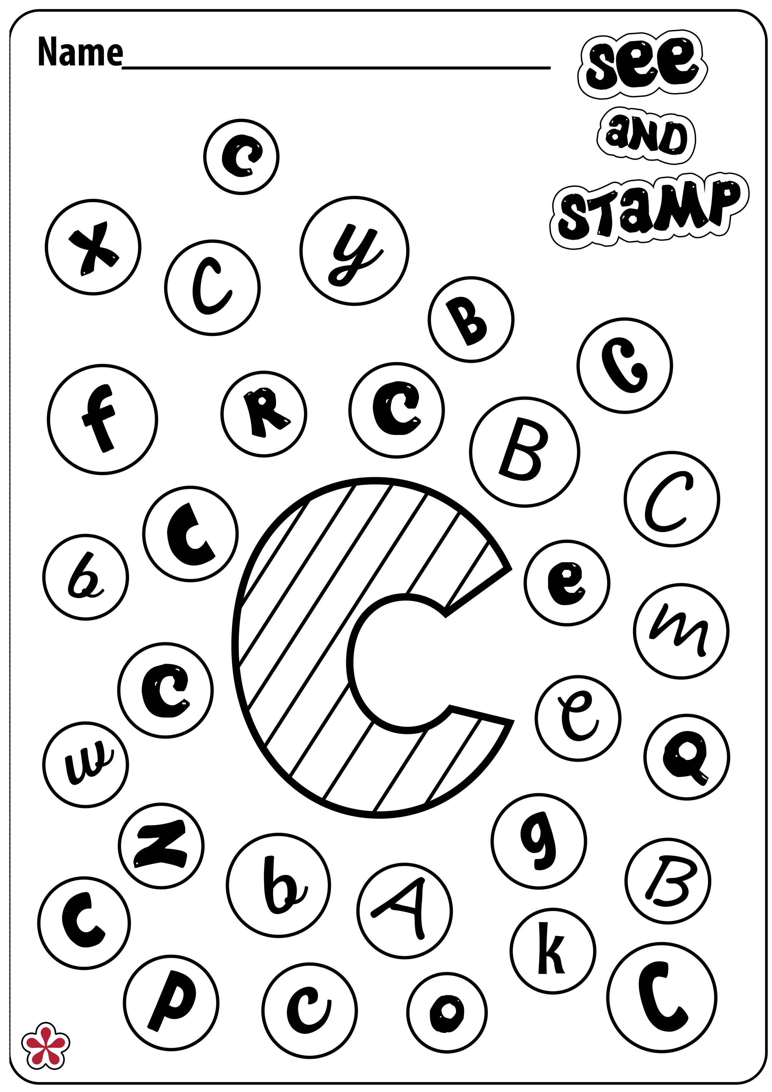 Letter C Worksheets  Teachersmag Com
