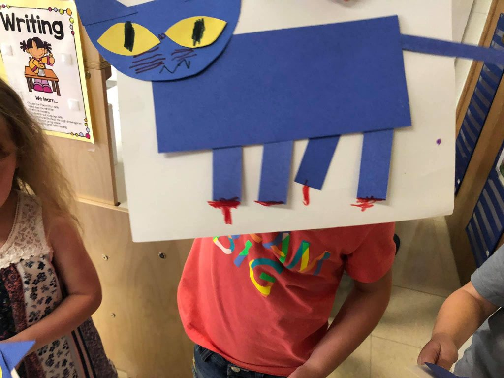 Pete the Cat Craft