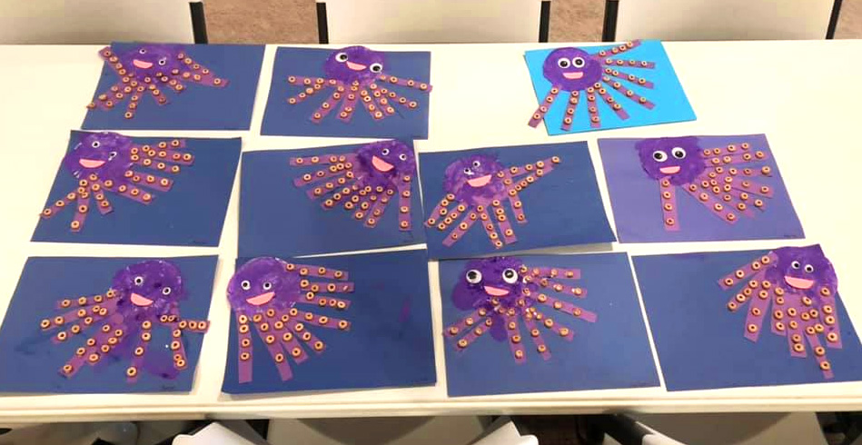 Octopus Craft for Preschool Students