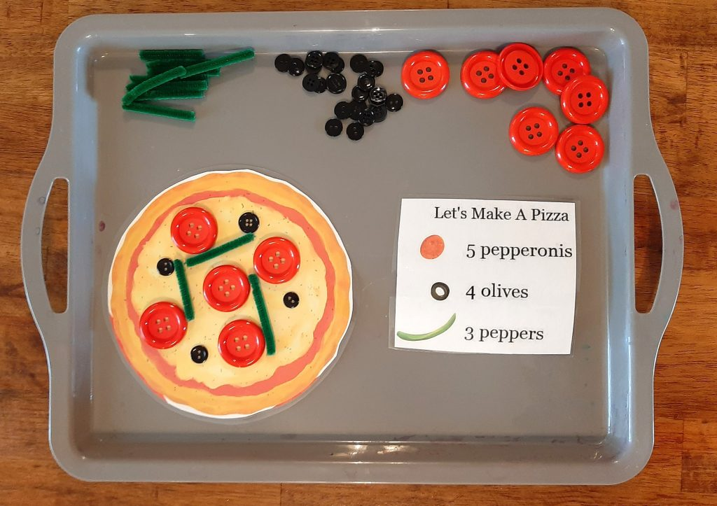 DIY Pizza and Math Game