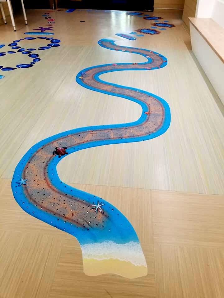 Sensory Paths for Hallways